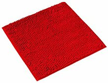PANA® Paris Chenille Badematte, rot, rot, WC