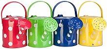 Panacea Produkte Corp 1/2Gallonen, Polka Dot Gießkanne, Farbe kann variieren