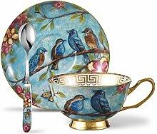 Panbado Fine Bone China Porzellan Kaffee Set, mit