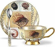 Panbado, Porzellan Kaffee Set 3-teilig, 200 ml
