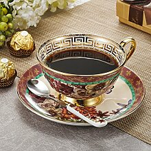 Panbado, Porzellan Kaffee Set, 3-teilig