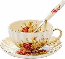 Panbado, Porzellan Kaffee Tee Set, Beinhaltet 300