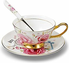 Panbado, Porzellan Kaffeeservice, 3-teilig Kaffee