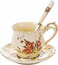 Panbado, Porzellan Kaffeetasse 250 ml mit