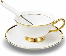 Panbado Premium Bone China Porzellan Kaffee Set,