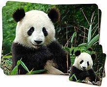 Panda 'Love You Dad' Sentiment Zwillings