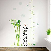 panda bambus wolken pflanze höhe messen