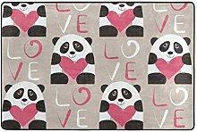 Panda Bereich Teppich Fußmatte Muster