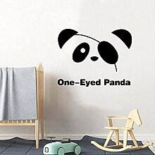 Panda Carving Sticker Wasserdichte Vinyl Tapete