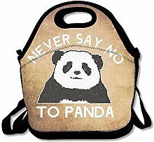 Panda Design Convenient Lunch Box Tote Bag Rugged