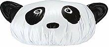 Panda Duschhaube - Pandabär Duschkappe