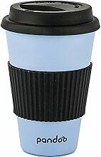 pandoo Bambus Coffee-to-Go-Becher - Kaffee-Becher,