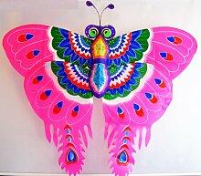 Pandora 3D Butterfly Kite-Outdoor Fun Wandbild Souvenir Arts Crafts &Dekoration Geschenkidee (Pink)