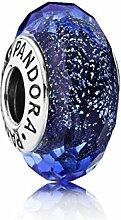 Pandora Charm 791646 Sterling-Silber, Murano-Glas