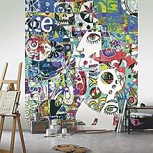 Panels 250x 280Abstrakt Modern der Picasso mit Infiniti Farben in TNT. Street Art-68294456