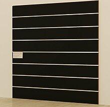 Panels DOGATO 120x 120cm schwarz Möbel Shop