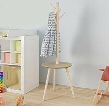 Panet Kindergarderobe Holzboden Kleiderbügel