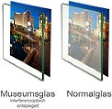 Panorahma Bilderrahmen Museumsglas Glas