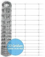 Panorama24 Wildzaun 125/13/30 50m Gartenzaun,