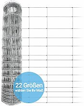 Panorama24 Wildzaun 160/15/30 50m Gartenzaun,