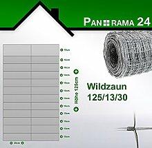 Panorama24 Wildzaun Forstzaun Weidezaun Rollenware