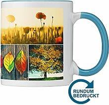 Panoramatasse aus Keramik mit persönlichem Foto
