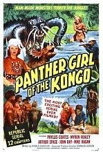 Panther Girl Of Congo Poster 01 Metal Sign A4 12x8 Aluminium
