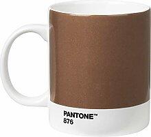 Pantone 18002 Kaffeetasse, Porzellan, silber