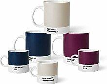 Pantone 18234 Kaffee-& Espressoset Porzellan, aus