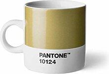 Pantone Espressotasse, Porzellan, Gold