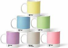 Pantone Kaffeebecher-Set, Porzellan, Pastell, 8.4