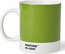 Pantone Kaffeetasse, Porzellan, Green 15-0343, 8.4