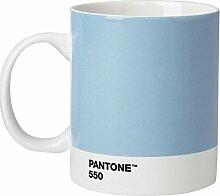 Pantone Kaffeetasse, Porzellan, Light Blue 550,
