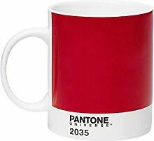 Pantone Kaffeetasse, rot, 375ml