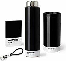 Pantone Outdoor-Set schwarz, aus To Go Cup, Tritan