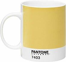 Pantone P10103001 Porzellan Becher 7403, 375 ml, hellgelb