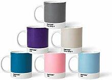 Pantone Porzellan Becher 6er-Set, 6 Kaffeetassen
