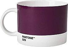 Pantone Teebecher, Porzellan, Aubergine 229, 10.4