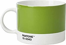 Pantone Teebecher, Porzellan, Green 15-0343, 10.4