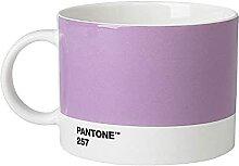 Pantone Teebecher, Porzellan, Light Purple 257,