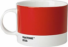 Pantone Teebecher, Porzellan, Red 2035, 10.4 x