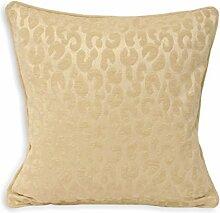 Paoletti Mahiki Cream Cushion Cover 45 x 45