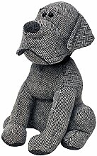 Paoletti Riva Home Herringbone Hund Türstopper (Einheitsgröße) (Grau)