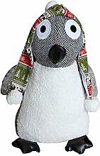 Paoletti Riva Home Pinguin Türstopper (Einheitsgröße) (Grau)