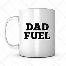 Papa Fuel Geschenkidee Vatertag Tasse Kaffee