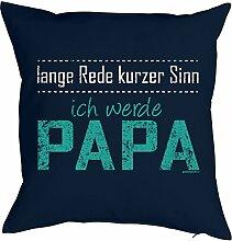Papa-Spaß-Kissenbezug/Dekobezug ohne Füllung: