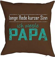 Papa-Spaß-Kissenbezug ohne Füllung: lange Rede