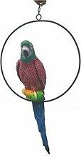 Papagei im Ring - Tierfiguren - AFR032