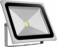 Papasbox 50W LED Fluter Außen, 4000LM Superhell