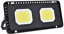 Papasbox 50W LED Strahler, 5000LM Superhell Fluter